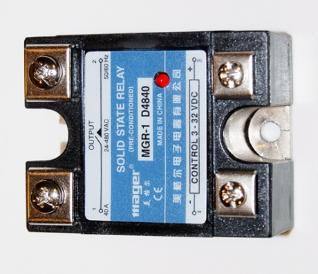 Solid state ac relay 40 amp
